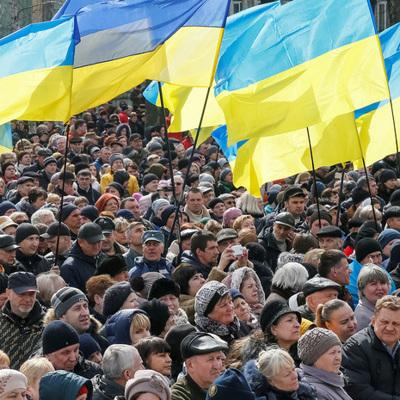 В Киеве радикалы прекратили акцию у офиса президента Украины