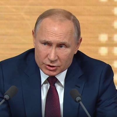 Ежегодная пресс-конференция президента Владимира Путина состоится 17 декабря