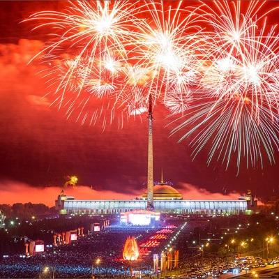 Праздничные салюты в День защитника Отечества в Москве запустят с 16 площадок