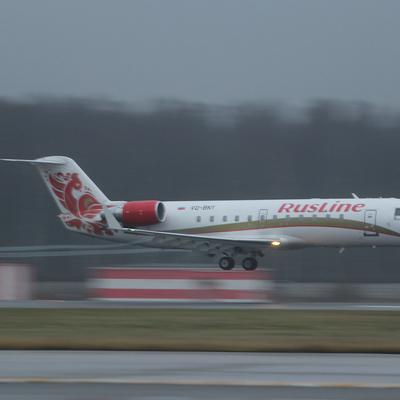 Самолет CRJ-100 экстренно сел в Йошкар-Оле из-за отказа двигателя