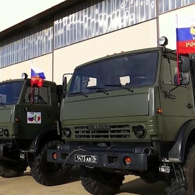 В Нагорный Карабах прибыли российские военные медики