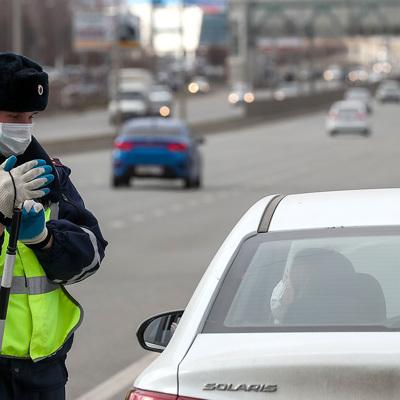 Нарушителей самоизоляции, передвигающихся по Москве на личных авто, начнут штрафовать с пятницы
