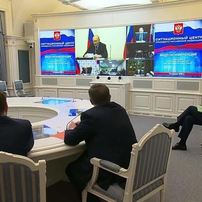 Путин предостерегчиновников от соблазна свалить собственные недоработки на последствия пандемии