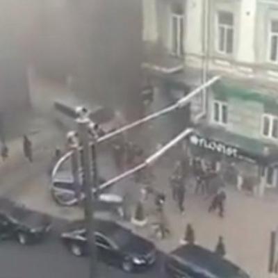 В Киеве возле офиса депутата Верховной рады Виктора Медведчука произошел взрыв