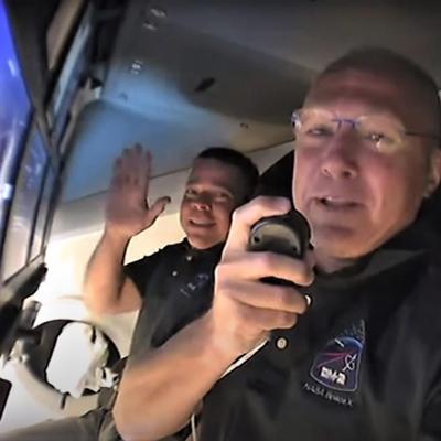 Астронавты американского пилотируемого корабля Crew Dragon перешли на борт МКС