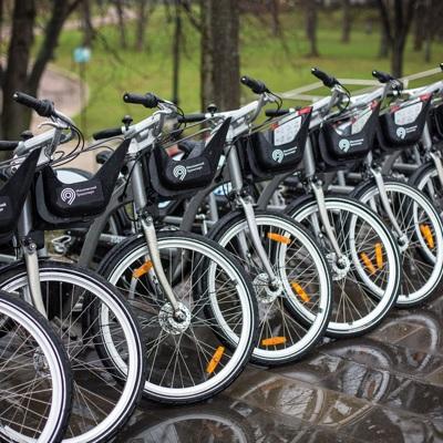 Около 20 тысяч поездок совершили пользователи велопроката с 1 июня в Москве
