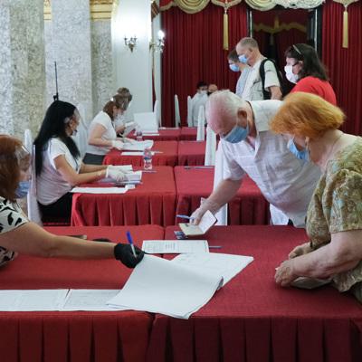 Голосование по поправкам вКонституцию проходило всложный периодидля Москвы,идля страны