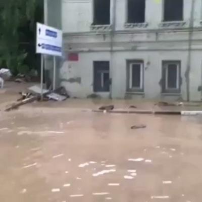 В Комсомольске-на Амуре началось подтопление домов