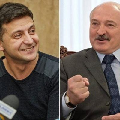 Зеленский обсудил с Лукашенко вопросы, связанные с задержанием под Минском группы россиян