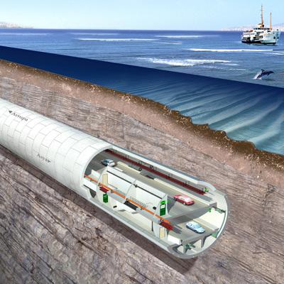 Континентальную Италию и Сицилию соединят подводным тоннелем