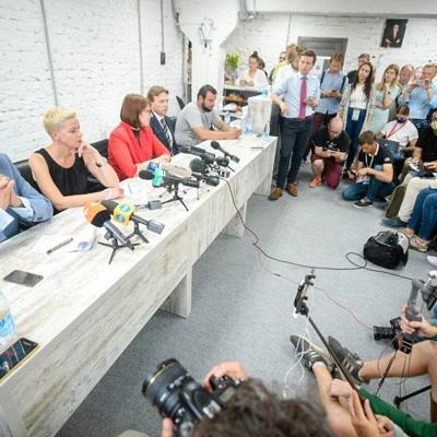 Белорусская оппозиция предложила площадку для переговоров с властями