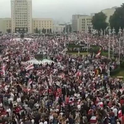 В Минске завершилась несанкционированная акция сторонников оппозиции