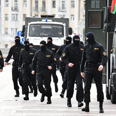 В Белоруссии задержаны около 200 участников несанкционированных акций протеста