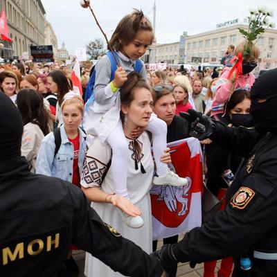 В Белоруссии в ходе воскресных протестов задержаны 523 человека