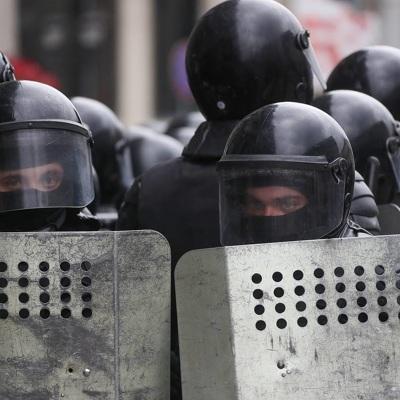 В Минске начались массовые задержания протестующих