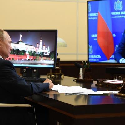 Путин по видеосвязи открыл цех в Братске, где будут производиться вакцины от covid-19