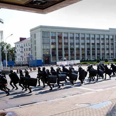 В Минске правоохранители проводят задержания участников различных акций протеста