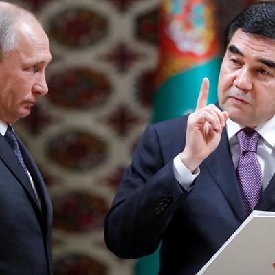 Путин: Москва придает большое значение отношениям стратегического партнерства с Ашхабадом