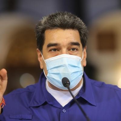 Президент Венесуэлы и его супруга вакцинировались
