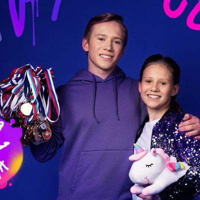 Дарья Черняева и Виктор Лукинов