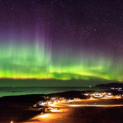На широте Мурманска в среду наступит полярная ночь
