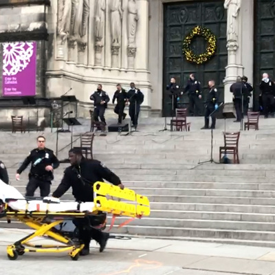 При стрельбе в Нью-Йорке пострадали пять человек