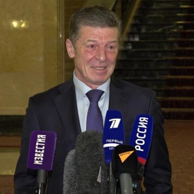 Дмитрий Козак: Киев боится выхода из Минских соглашений