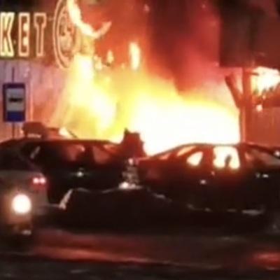 В результате взрыва газа и пожара на цветочном рынке в Краснодаре погиб 1 человек