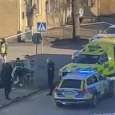 Полицейские задержали напавшего на прохожих на юге Швеции
