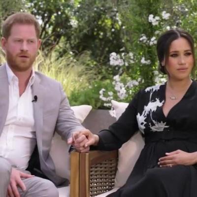 Интервью принца Гарри и Меган Маркл Опре Уинфри выйдет сегодня на CBS