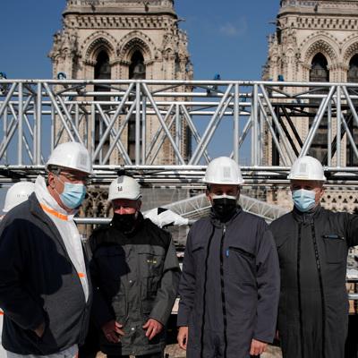Парижский Собор Нотр-Дам готов к реставрации