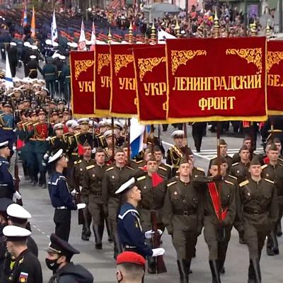 Парады в честь Дня Победы прошли на Дальнем Востоке