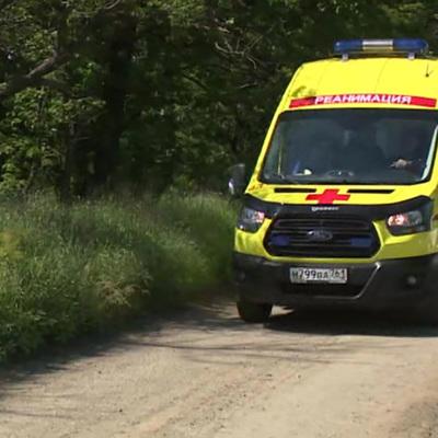 Девять медработников пострадали при столкновении
