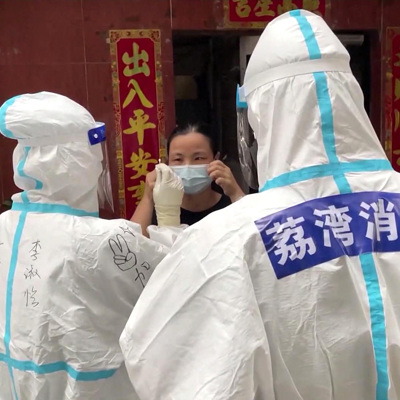 В китайском Нанкине новая вспышка коронавируса