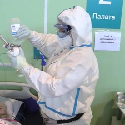 Резерв коек для пациентов с коронавирусом в Санкт-Петербурге составляет 11%