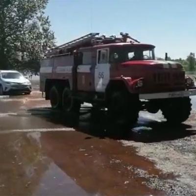 Спецтехника откачала воду с большинства улиц Красноярска