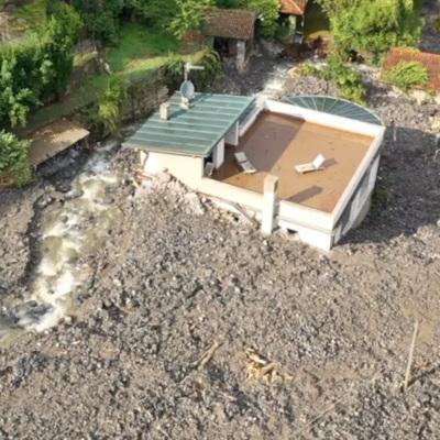Ливни с оползнями обрушились на провинцию Комо на севере Италии