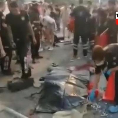 Три россиянина погибли в ДТП с автобусом в Турции