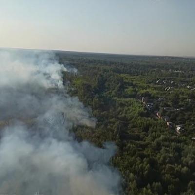 Почти 150 детей отправили домой из лагеря из-за пожара в Челябинской области