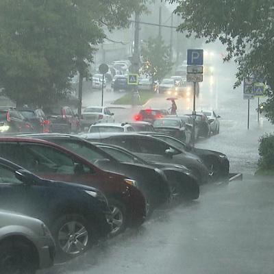 В столичном регионе с воскресенья будет идти дождь