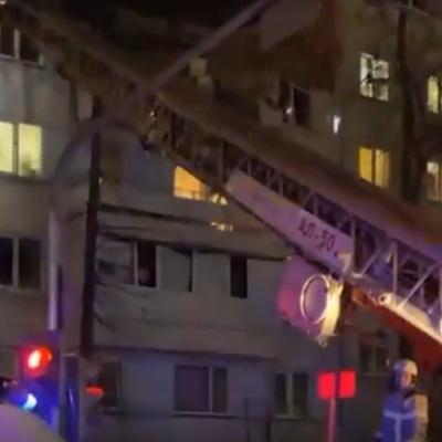 8человек извлечены из-под завалов на месте взрыва в доме в Набережных Челнах
