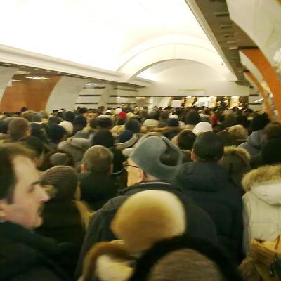Сбой в движении поездов произошел в московском метро