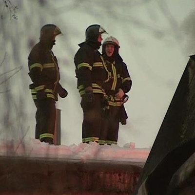 Открытое горение на территории бывшего военного арсенала в Удмуртии ликвидировано