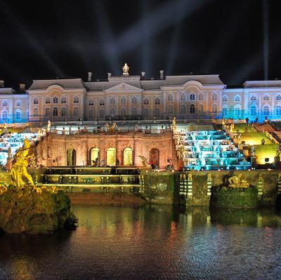 В Петергофе состоялся праздник фонтанов