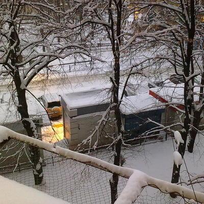 Затяжные снегопады ожидаются в Москве