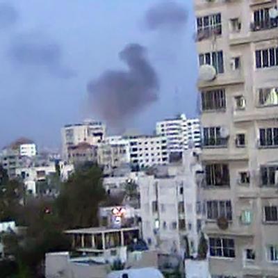 Израильские войска вновь атаковали позиции сирийской артиллерии