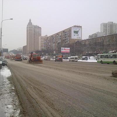 На усиленный режим работы переведены коммунальные службы Москвы