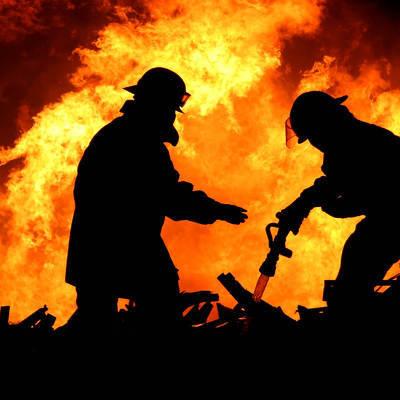 Площадь пожара в Оренбургской области составила 2,5 тыс. кв. метров