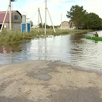 В Забайкалье паводком подтоплены свыше 230жилых домов