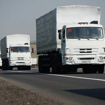 Автоколонна МЧС России с гуманитарной помощью в 71-й раз направилась в Донбасс